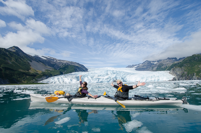 An Unparalleled Day: Kayaking to Aialik Glacier