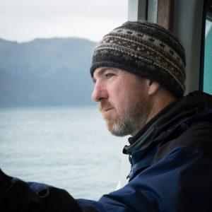 Checking out Resurrection Bay, Seward, Alaska